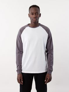 WeSC AW16 Barclay L/S T-Shirt White
