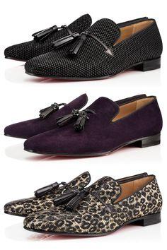 Tassel Designs. Three by Christian Louboutin. Mens Shoes | Mens Fashion @ rickysturn