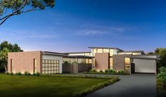 Plan 430010LY: Mid Century Modern House Plan With Courtyard