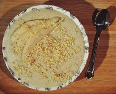 Enjoy Your Morning...: 855. zdrowy migdałowy budyń oraz słodka zupa.