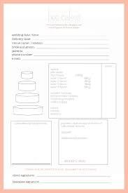 wedding cake order forms printable 1000 images about cake business order form on 23352