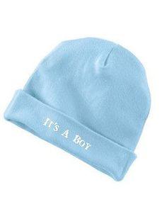 Infant 5 oz. Baby Rib Cap - custom embroidered by ArgoCrafts on Etsy