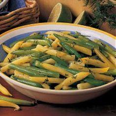 green beans recipes yummly asparagus green bean and wax bean salad