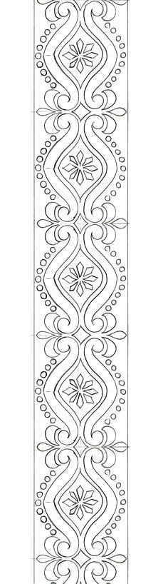 Hand Embroidery Design Patterns, Quilt Patterns, Printable Stencil Patterns, Jewelry Design Drawing, Wreath Drawing, Stencil Designs, Machine Quilting, Beaded Embroidery, Pattern Design
