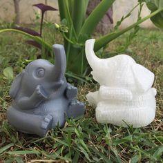Elefante Sentado 🐘 Sitting Elephant 🐘 Designer: @bs3  #3dprinting #3dprint #3dprinted #elephant #toy #decoration #p1 #prototipos #p1prototipos #impressao3d #prototipagem #elefante #brinquedo #decoracao #goodluck