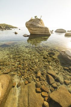 Water so clear it's like it's not even there! Lake Tahoe CA [OC] 800x1200