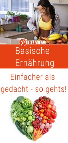 Basic nutrition quite simple. How to deacid basic foods - Basische Ernährung ganz einfach. So entsäuern basische Lebensmittel Basic nutrition is not only but very easy and the enjoyment is not too short. Diet And Nutrition, Proper Nutrition, Health Diet, Nutrition Guide, Holistic Nutrition, Complete Nutrition, Nutrition Education, Nutrition Store, Sports Nutrition