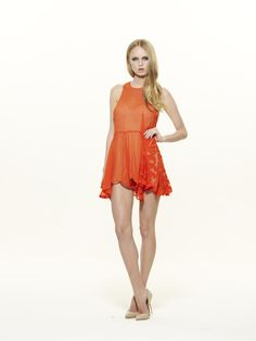 alice McCALL - Flowers are Melting Playsuit (Cherry) | Alice McCALL