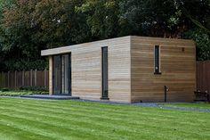 Exterior garden studio