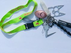Self Defense Keychain, Lip Gloss, Personalized Items, Hair, Strengthen Hair