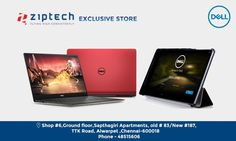 Get exciting offers on Dell Laptops & PC's @ Ziptech   Dell providing all-in-one PCs, powered by the latest processors, feature  wide screens and plenty of storage space for comfortable computing. For more call us now @ 044- 48515606.
