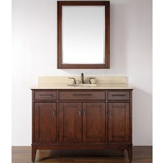48 inches single sink vanity,cream marble top, build-in ceramic basin, medicine mirror cabinet Bathroom Mirror Cabinet, Kitchen Cabinets In Bathroom, Mirror Cabinets, Single Bathroom Vanity, Modern Bathroom, Master Bathroom, Bathroom Ideas, Transitional Bathroom, Bath Vanities