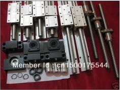 213.00$  Watch now - http://alil6x.worldwells.pw/go.php?t=32647076372 - 6 sets SBR16-350/950/1150mm + 3 sets 1605 ball screws+3 sets BK/BF12 end bearings+ 3pcs DSG16H+3pcs coupler