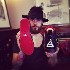 As featured on MARSX, Official Thirty Seconds To Mars sneakers are now available! More information available via the Official MARS Store.