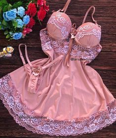 Cute Lingerie, Beautiful Lingerie, Lingerie Models, Women Lingerie, Cute Sleepwear, Underwear, Cute Swag Outfits, Night Gown, Lounge Wear