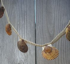 Shell Garland - Sea Shell Garland - Seashell Garland - Wedding Garland - Natural Shell Garland