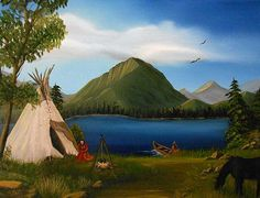 """""""The Dawn Of Tohidu"""" painting by Sheri Keith"""