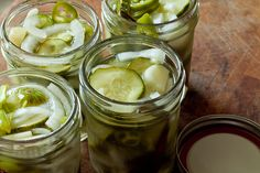 freezer pickles again... might have to give this a try