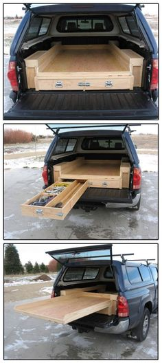 For your mobile workshop needs – - Werkstatt ideen can find Workshop and more on our website.For your mobile workshop needs – - Werkstatt ideen Truck Bed Storage, Van Storage, Tool Storage, Storage Ideas, Organization Ideas, Truck Bed Drawers, Storage Systems, Workshop Storage, Camping Organization