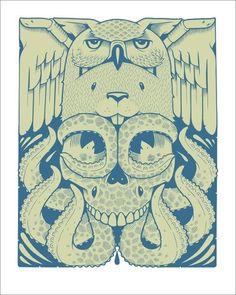 Jeremy Fish Omg Posters, Fish Artwork, Monster, Art Sketchbook, New Art, Illustration Art, Character, Art Prints, Skulls