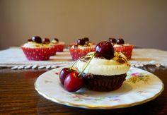Black Forest Cupcakes | KitchenSpells