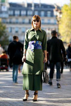 Неделя моды в Париже весна-лето 2016: Street Style, Часть 4