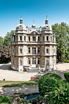 Monte Cristo Castle - Alexandre Dumas' Estate in Marly le Roi, France... Author of The a Three Musketeers.