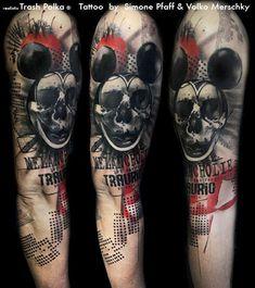 +++ trash polka + the original ++tattoo by +++ SimOne Pfaff +++ Buena Vista Tattoo Club - Würzburg/Germany