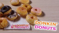 Easy; Dunkin' Donuts Inspired - Polymer Clay Tutorial (+playlist)