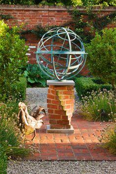 Armillary Sundial eclectic garden sculptures