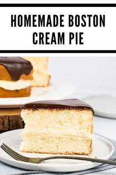 2 cups (500ml) whole milk 1/4 cup (50g) + 1/3 cup (65g) granulated sugar, divided 1 large whole egg 2 large egg yolks 1/4 cup (30g) cornstarch 2 tbsp (28g) unsalted butter 1 tsp (5ml) vanilla extract CAKE 1/2 cup (114g) unsalted butter, softened 1/2 cup (125ml) vegetable oil 1 1/2 cups (300g) granulated sugar 1 1/2 cups (375ml) buttermilk, room temperature 3 large eggs, room temperature 1 tbsp (15ml) vanilla extract 3½ cups (440g) all-purpose flour 4 tsp of baking powder ½ tsp salt 1/2 cup (125m Cake Recipes Without Milk, Recipes Using Cake Mix, Sheet Cake Recipes, Cake Recipes From Scratch, Cake Recipe With Sour Cream, Easy Vanilla Cake Recipe, Chocolate Cake Recipe Easy, Chocolate Chip Recipes, Cake Recipes For Beginners