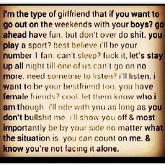 Type of girlfriend Type Of Girlfriend, Girlfriend Quotes, Girl Quotes, Me Quotes, Funny Quotes, Qoutes, Sassy Quotes, Normal Quotes, I Can Relate