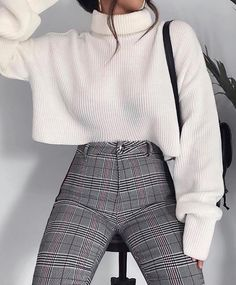 Fashion outfits Outfits Winter outfits Fashion Elegant outfit Sixth form outfits - 100 Outfits I like and I will definitely try - Casual Winter Outfits, Winter Fashion Outfits, Look Fashion, Fall Outfits, Autumn Fashion, Womens Fashion, Outfit Winter, Summer Outfits, Fashion Clothes