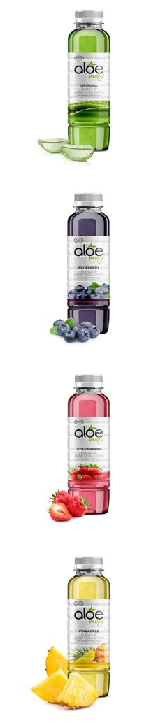 Aloe Valley Drinks on Packaging of the World - Creative Package Design Gallery