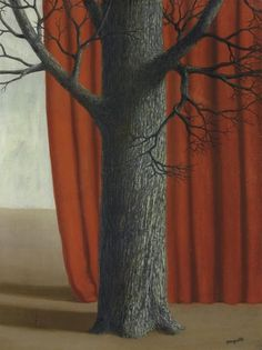 René Magritte (Belgian, 1898-1967), La parade, 1940. Oil on canvas, 65.5 x 50 cm.
