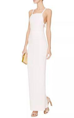 Tailor Bow Skim Gown by Katie Ermilio - Moda Operandi