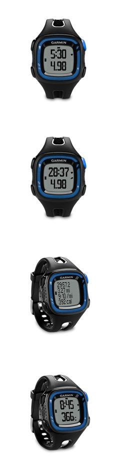 GPS and Running Watches 75230: Garmin Forerunner 010-N1241-00 Gps Running Watch And Activity Tracker Black Blue -> BUY IT NOW ONLY: $73.05 on eBay!