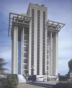 Edificio de Banco de México, el Puerto de Veracruz, Veracruz, México 1950Arq. Carlos LazoBank of Mexico building, Port of Veracruz, Veracruz, Mexico 1950