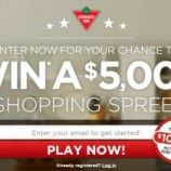 Canadian Tire Contests – Win $5000, Instant Prizes, Or Free Gas for a year
