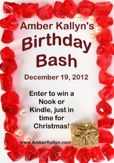 Romance Beckons: Come Party for Amber Kallyn's Birthday! #Giveaways