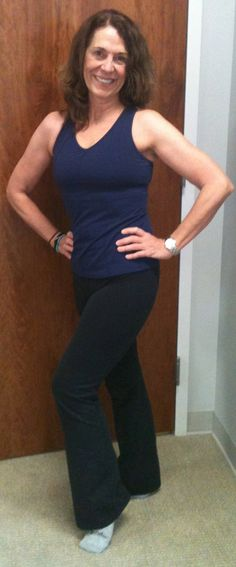 Bar Body Transformation AFTER!  Laurie   Age: 56  Time to reach goal: around six months  Lesson: You CAN sculpt your body and look fabulous when you are 50+.
