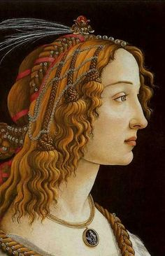 BOTTICELLI, Sandro Italian Early Renaissance (c 1445-1510)_Portrait of a Young Woman- circa 1480
