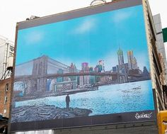 """Nick Walker ,""""The Morning After Brooklyn"""" in Manhattan, NYC, 2016 Nick Walker, Manhattan Nyc, Brooklyn, Lp"""