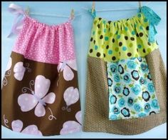 Simple Pillowcase Dress - Sizes 6mths-6yrs | YouCanMakeThis.com