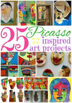 25 Picasso Inspired Art Projects for Kids