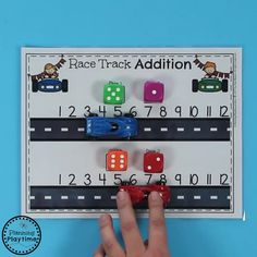 Addition Kindergarten Activities - LOVE these Addition Games and Worksheets.Do you need Awesome Addition Worksheets and Centers for Kindergarten Math? Kids LOVE these fun, interactive math activities, and you will too. Preschool Learning Activities, Toddler Activities, Preschool Activities, Teaching Kids, Montessori Math, Learning Games, Dyslexia Activities, Preschool Phonics, Preschool Writing