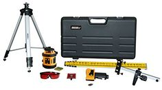 Johnson Level and Tool 40-6517 Self-Leveling Horizontal Rotary Laser Level, Manual-Leveling in Vertical Plane-Kit (Version 1: 40-6516, Non-Kit: 40-6515)