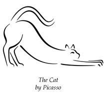 23 New Ideas Line Art Tattoo Draw Pablo Picasso Pablo Picasso, Kunst Picasso, Picasso Drawing, Picasso Art, Cat Drawing, Line Drawing, Drawings Of Cats, Picasso Tattoo, Picasso Sketches