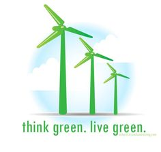 think green. live green.