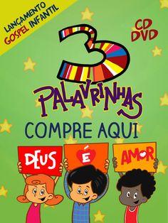 CHEGOU O CD/DVD DO 3Palavrinhas! COMPRE AQUI: http://www.3palavrinhas.com.br/onde-comprar.html?utm_campaign=3-palavrinhas-lancamento&utm_medium=link&utm_source=pinterest-onimusic&utm_content=link-do-banner-600x800&utm_term=compre-aqui